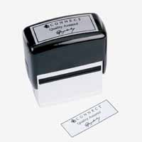 Q Connect Voucher for Rubber Stamp 87x15