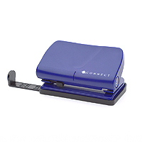 Q-Connect Light Duty Hole Punch Blue