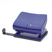 Q-Connect Medium Duty Hole Punch Blue