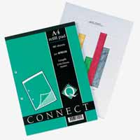 Q-Connect Refill Pad A4 Graph 80Leaf
