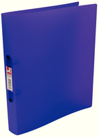 A4 Frosted Polypropylene Ring Binders