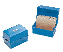 Q-Connect Card Index Box 6x4 Blue