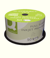 QConnect Inkjet Printable CDR Spindle