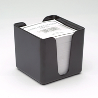 Q-Connect Memo/Jot Box Black