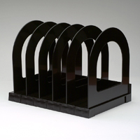 Q Connect Book Rack Black