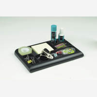 Q Connect Executive Tray Organiser Black