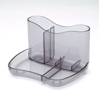 Q-Connect Exec Pen Tray Smoke