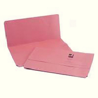 Q-Connect Document Wallet FC Pink