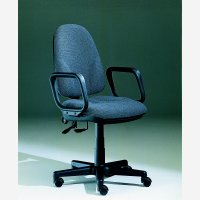 Polaris HB Synchro Op Chair Grey