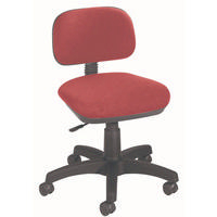 FF Jemini Gas Lift Typist Chair Claret