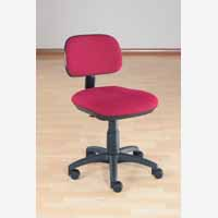 Sirius Manual Typist Chair Claret