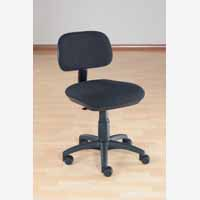Sirius Manual Typist Chair Charcoal