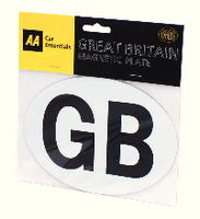 AA GB Badge Self Adhesive 5013918080038