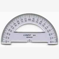 Linex College Semi-Circ Protractor 100mm
