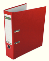 Leitz A4 LA File PP 80mm Red 101025