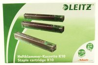 Leitz Stapler HDuty Cart 10mm Green