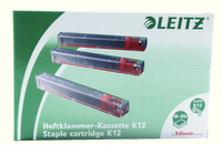 Leitz Stapler HDuty Cart 12mm Red