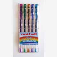 Uniball Rainbow Gel Wlt5 Asstd 5023121