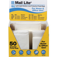 Mail Lite? White Selection Box Pk50