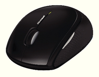 Msoft Wls Mobile Mouse 4000 Black D5D