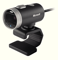 Microsoft Lifecam Cinema Webcam Grey