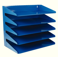 Avery Letter Rack 5Tier Blue 605