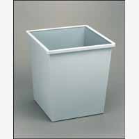 Avery 27Litre Steel Bin Square Grey 631