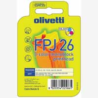 Olivetti 3 Colour Inkjet Cartridge Jp360