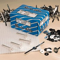 Paper Binders Tinned Steel with Washers 13mm