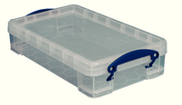 Really Useful 2.5 Litre Box Clear