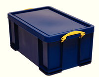 Really Useful 64 Litre Box Solid Blue