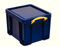 Really Useful 35 Litre Box Solid Blue