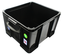 Really Useful 42L Recyc Box Blk 42BKR
