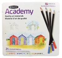 Derwent Academy Colouring Pencils 24Tin