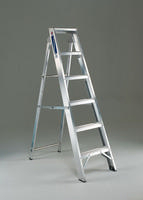 FD 13 Tread Hinged Step Ladder 306649