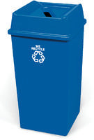 FD 132.50 Litre Paper Recycling Bin Blue