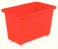 Mobile Nesting Container Red