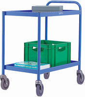 FD 2 Shelf General Trolley Blue 331491