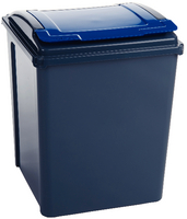 Vfm Recycling Bin Blue Grey/Blue 384290