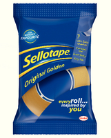 Sellotape Golden Tape 18mmx33M 1443