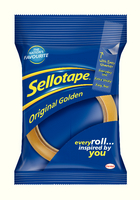 Sellotape Golden Tape 19mmx66M 1443