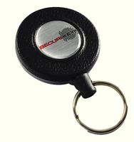 Heavy Duty Key Reel 1200mm Black