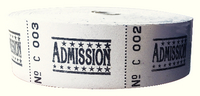 Roll Ticket One Pound Assorted 50023