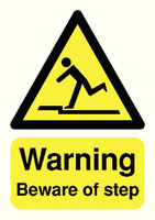 Warning Beware Of Step A5 S/A HA21451S