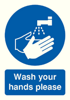 Wash Your Hands Please A5 S/A MD05851S