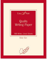 Tallon Duke Writing Pad Pln 100Sht 3255