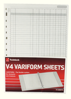 Variform V4 6Column Cash Refill 75932