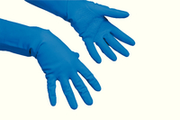 Vileda Multipurpose Gloves Med Pk10 Blu