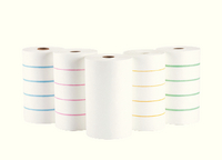 Vileda Microroll Dispos Cloth 4 Rolls Bl