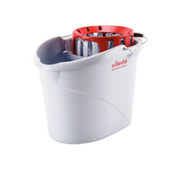 Vileda Supermop Bucket/ Wringer Red